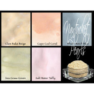 Lindy's Stamp Gang - Pigment Powders -  Magicals - Nantucket Pearls - pk 5, Scrapify, Australia