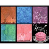 Lindy's Stamp Gang - Pigment Powders - Magicals - Victorian Bouquet  - pk 5, Scrapify, Australia