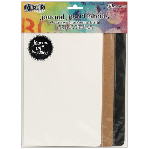 Ranger, Dylusions, Small Journal Insert Sheets, Dyan Reaveley, Scrapify, Australia