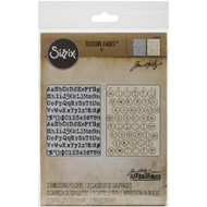 Sizzix, Tim Holtz Alterations, Texture Fades, Embossing Folders (Pk 2) Typewriter and Keyboard, Scrapify, Australia