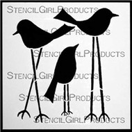 This Stencil was Designed by Terri Stegmiller for Stencil Girl
