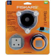 Fiskars Everywhere Punch Window System Starter Set, Square 5cm, Scrapify, Australia