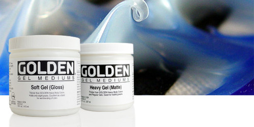 Golden, Regular Gel Matte, 8oz, 237mls, Scrapify, Australia