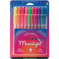 Gelly Roll Moonlight Bold Point Pens 10/Pkg Assorted Colors, Scrapify, Australia