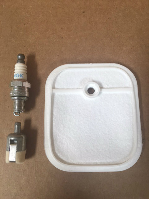 TUNEUP SERVICE KIT W//CAP FITS ECHO BLOWERS TILLERS HEDGETRIMMERS 3 HOLE MODEL