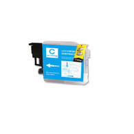 1-Pack CYAN Compatible Ink for Brother LC61C
