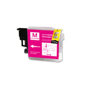 1-Pack MAGENTA Compatible Ink for Brother LC61M