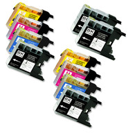 10-Pack Compatible Ink for Brother LC75
