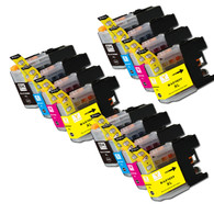 12-Pack Compatible Ink for Brother LC101 / LC103 XL