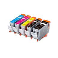 5-Pack Compatible Ink for Canon BCI-3e BCi-6