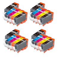 20-Pack Compatible Ink w/ Chip for Canon PGI-220/CLI-221