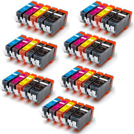 35-Pack Compatible Ink w/ Chip for Canon PGI-225/CLI-226