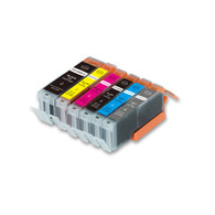 12-Pack Compatible Ink w/ GRAY for Canon PGI-250XL/CLI-251XL