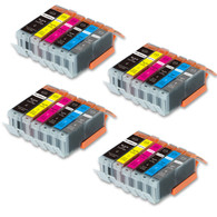 24-Pack Compatible Ink w/ GRAY for Canon PGI-250XL/CLI-251XL