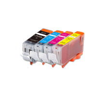 4-Pack CLI-8/PGI-5 Ink w/ chip for Canon iP3300, iP3500, MP510, MX700