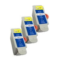 3-Pack (Black Only) Compatible Ink Cartridges for Kodak No. 10