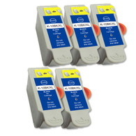 5-Pack (Black Only) Compatible Ink Cartridges for Kodak No. 10