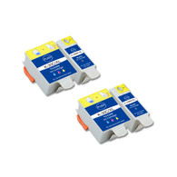 4-Pack (2 Black 2 Color) Ink Cartridges for Kodak No. 30XL