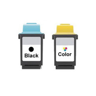 2-Pack Lexmark #50 #20 Set Ink Cartridge - Remanufactured