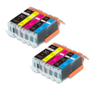 10-Pack Compatible Ink w/ Chip for Canon PGI-270XL/CLI-271XL