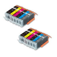 12-Pack Compatible Ink w/ Chip for Canon PGI-270XL/CLI-271XL