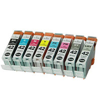 8 Pack Compatible Ink Cartridges for CLI-42