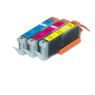 3-Pack Compatible Color Ink for CLI-251XL