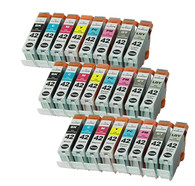 24 Pack Compatible Ink Cartridges for CLI-42