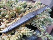 """DKC-142 Battle Stinger Damascus Folding Pocket Knife 4.5' Folded 8"""" Open 3"""" Blade 9oz DKC Knives"""
