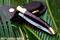 "DKC-970-SW-DS Snake Eyes Laguiole Damascus Steel Folding Pocket Knife Snake Woodl 4.75 "" Folded 8.5"" Open 3.6oz 4 "" Blade"