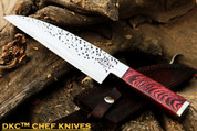 "DKC-194-440c ZATORI CHEF Knife 440c Stainless Steel Blade 7"" Rosewood Handle 5"" 12"" Overall 10oz"