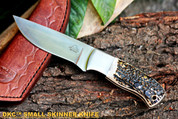 "DKC-546 KALUSA HUNTER 440c Stainless Steel Knife 8"" Overall 4"" Blade 7.5 oz"