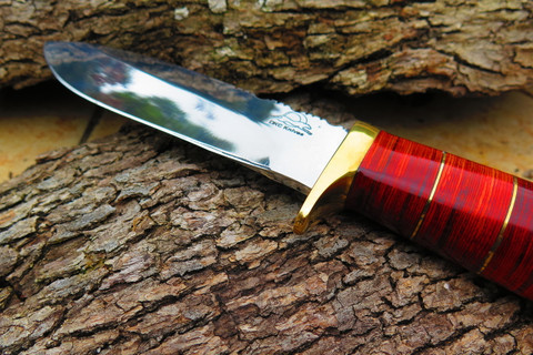 """DKC-723 TRINITY 440c Stainless Steel Bowie Hunting Handmade Knife Fixed Blade 11 oz 10"""" Long 5"""" Blade DKC KNIVES (DKC-723-440c)"""