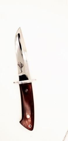 """DKC-UL-117 MORRIS Knife Loveless Style Custom Hand Made 10.75"""" Long5.5"""" Blade 10 oz DKC Knives Ultraline Series (DKC-UL-117 )"""