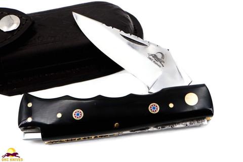 """DKC-34-440c Officer 440c Stainless Steel 8"""" Long 4.5"""" Folded 5.7 oz Pocket Folding Knife"""
