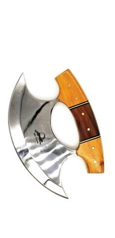 "DKC-1100-ULU-440c ULU Knife YAKIMA Series Chef Knife 440c Stainless Steel Blade 10 oz 6"" Blade 4"" High Overall DKC KNIVES"
