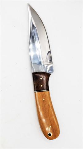 """DKC-1100-SK-440c YAKIMA Skinner 440c Stainless Steel Hunting Handmade Knife Fixed Blade 10 oz 9"""" Long 4."""" Blade ND-Series"""