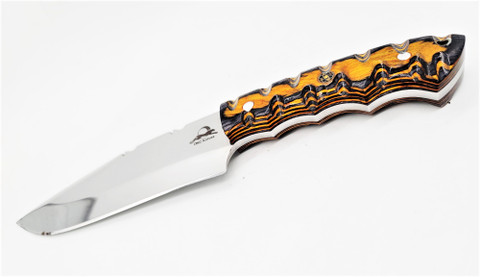 "DKC-6011-440c MIRAGE 440c Stainless Steel Hunting Knife DKC Knives 12oz 10.5"" Long 5.75"" Blade Nomano Series"