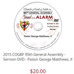 95 GA: Sound the Alarm - Matthews (DVD)