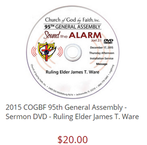 95 GA: Sound the Alarm - Ware (DVD) - Pt. 1&2