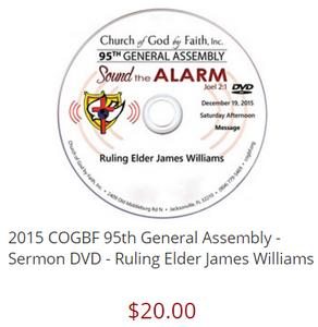 95 GA: Sound the Alarm - Williams (DVD)
