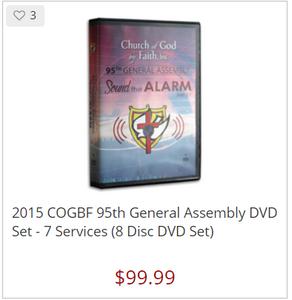95 GA:  Sound the Alarm DVD Set