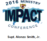2016 Ministry IMPACT Conference - Sermon DVD - Supt. Alonzo Smith, Jr.