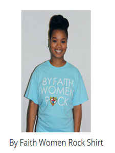 By Faith Women Rock Shirt