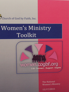 COGBF National Womens Ministry Toolkit