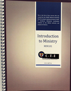 Introduction to Ministry 101