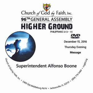 96 GA: Higher Ground - Boone (DVD)