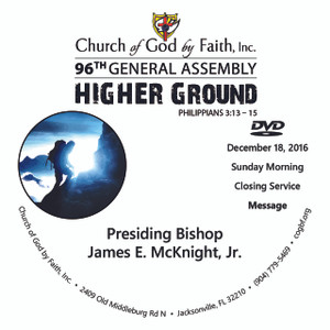 96 GA: Higher Ground - Bishop McKnight (DVD)
