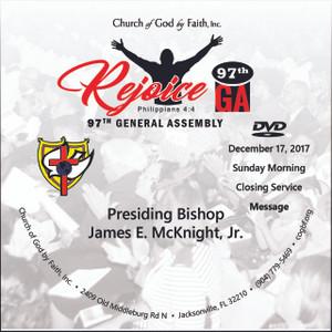 97 GA: Rejoice - Bishop McKnight (DVD)
