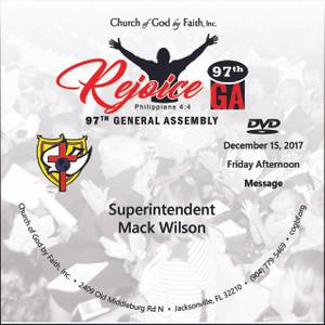 97 GA: Rejoice - Mack (DVD)